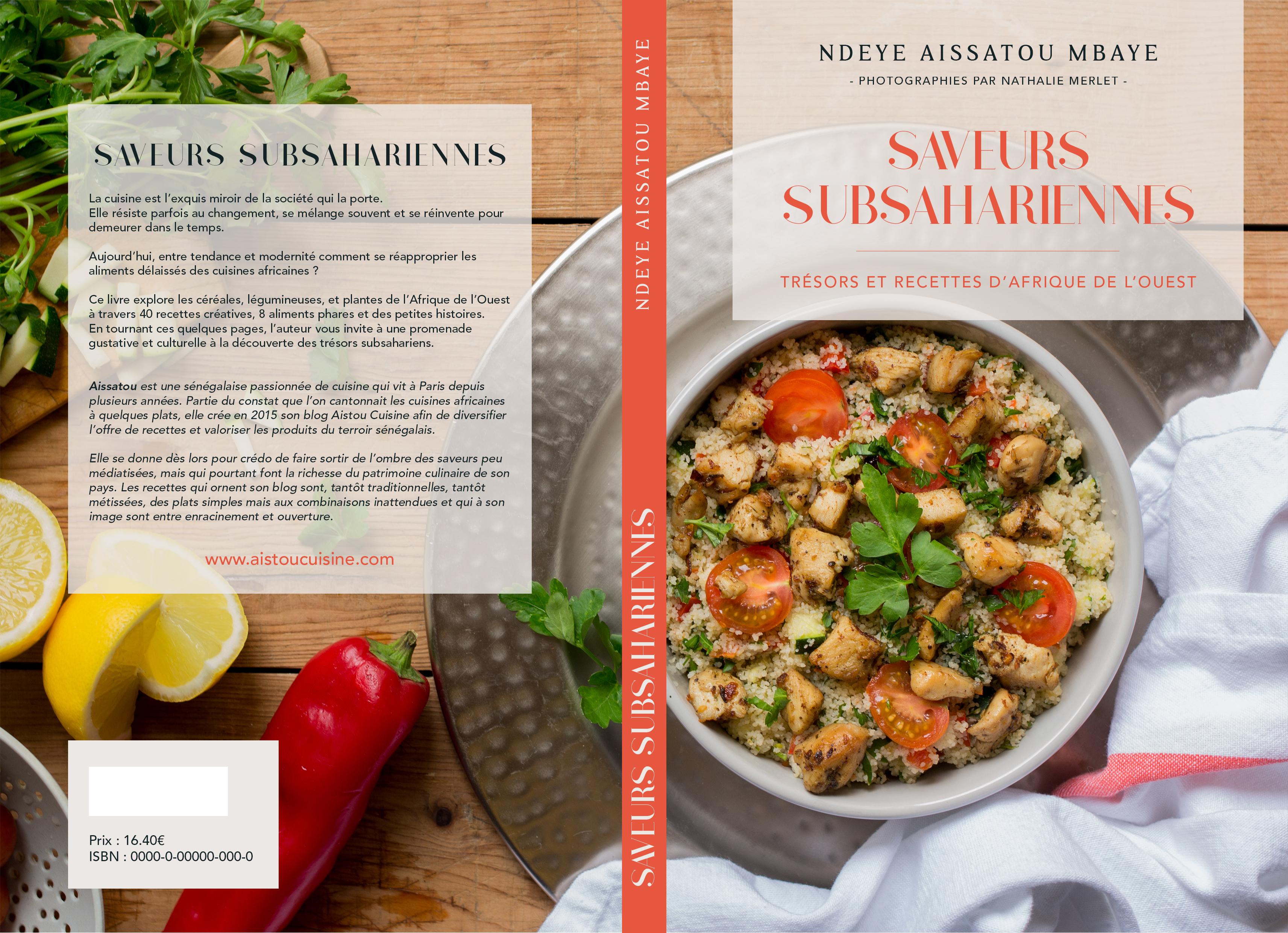 Livre De Cuisine Saveurs Subsahariennes